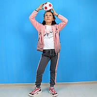 Спортивный костюм для девочки трехнитка Setty Koop размер 98-104,134-140