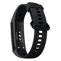Фитнес-браслет Huawei Honor Band 5 с цветным 0,95 дюймовым AMOLED экраном (Черный), фото 3