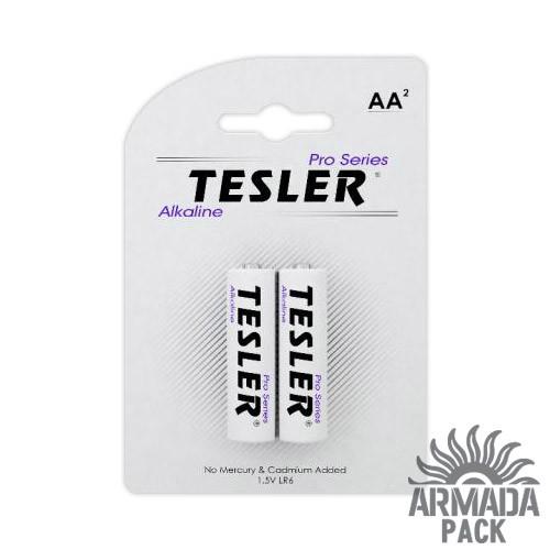 Батарейки Tesler Alkaline AA LR6 (2 шт)
