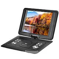 Портативный DVD проигрыватель c DVB T2 OPERA OP-1120 T2, с аккумулятором, Черный