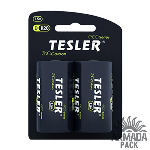 Батарейки Tesler D R20 (2 шт)