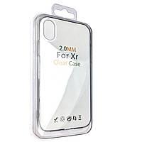 Чехол-накладка DK Silicone Germany Clear Case для Apple iPhone XR (clear)