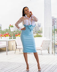 Костюм Спідниця, Блуза 237/238