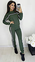 """Спортивный костюм женский с лампасами, размеры 42-46 (4цв) """"MISS"""" недорого от прямого поставщика"""