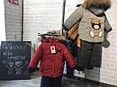 Детский зимний комбинезон на мальчика Панда Размеры 86- 104, фото 5
