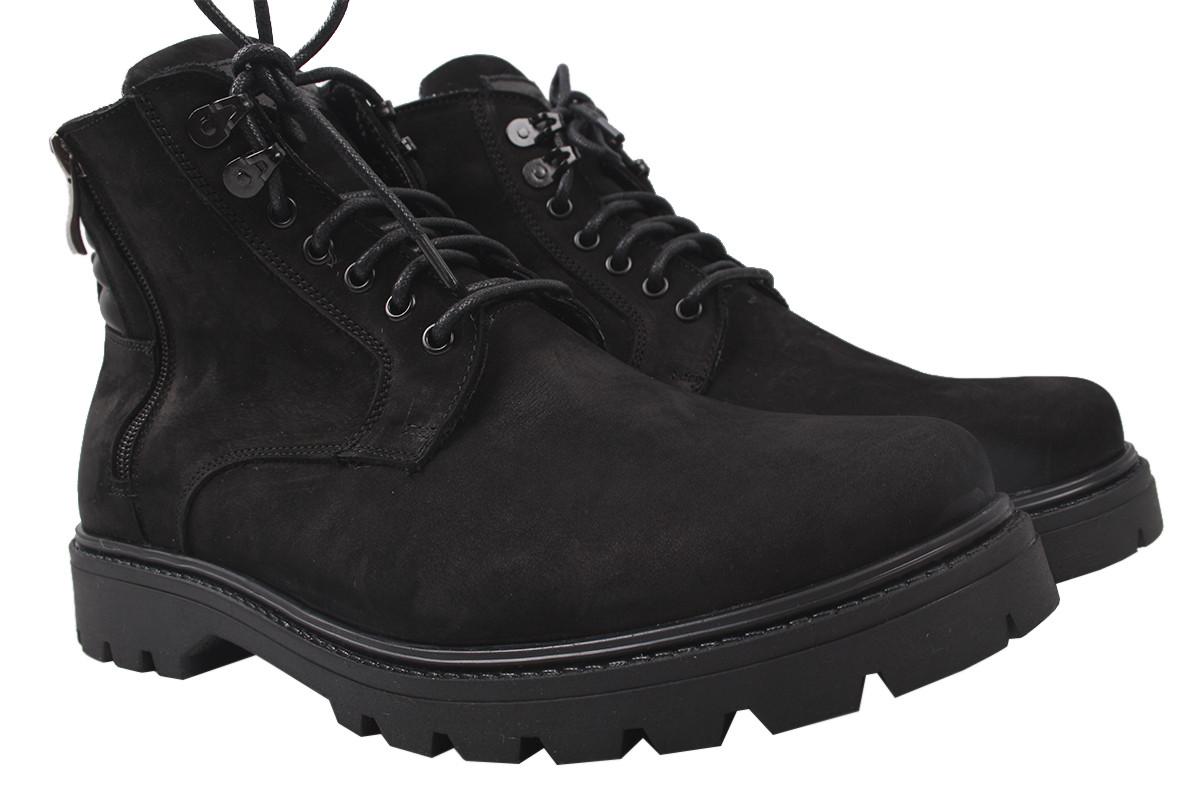 Черевики Vadrus чоловічі нубук, колір чорний, розмір 39-45