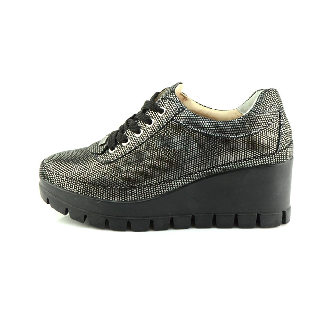 Туфлі Vikttorio Riko S2 558647  Black Silver