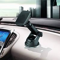 Магнітрий тримач на присосці для телефона навігатора в авто M4SS02 Магнитный держатель на присоске в авто
