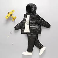 Комплект демисезонный (куртка + штаны) детский, черный Berni