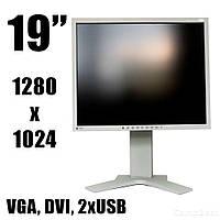 "Монитор EIZO FlexScan S1921 / 19"" / 1280x1024 S-PVA / DVI, VGA, 2 x USB / встроенные колонки"