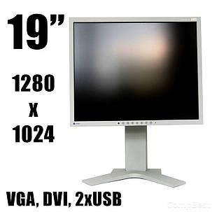 "Монитор EIZO FlexScan S1921 / 19"" / 1280x1024 S-PVA / DVI, VGA, 2 x USB / встроенные колонки, фото 2"