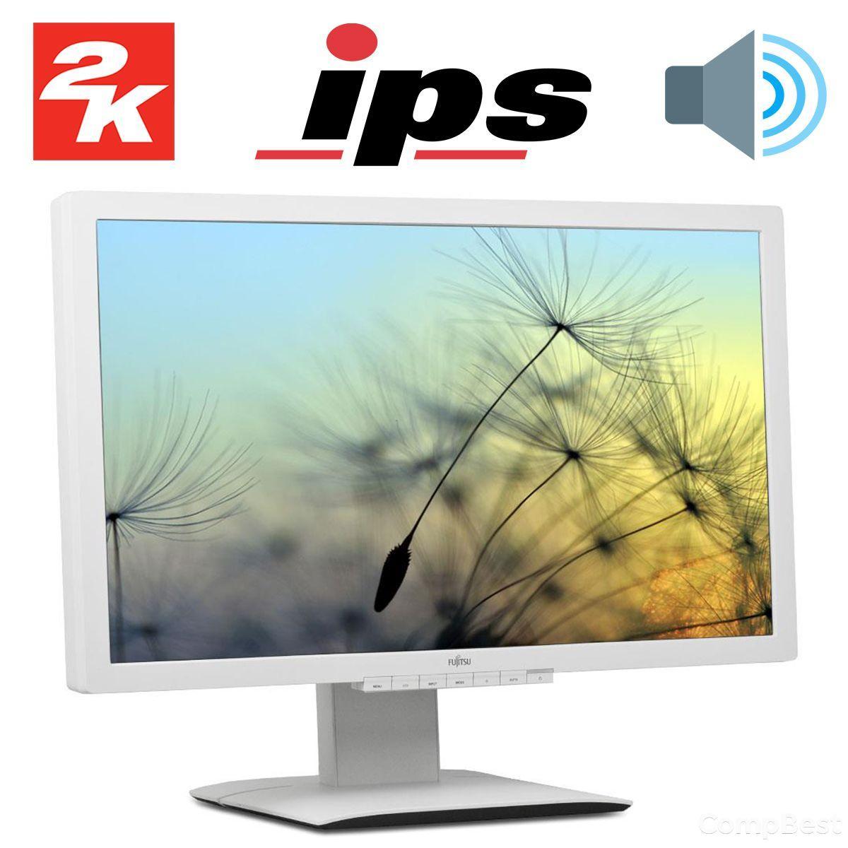 """Fujitsu P27T-6 / 27"""" / IPS / 2560x1440 / DVI-D, VGA (D-Sub), 2x HDMI, DisplayPort / встроенные колонки"""