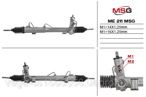 Рулевая рейка с ГУР новая MERCEDES M W163 1998-2002