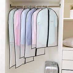 Чехлы для хранения и упаковки одежды из плащевки
