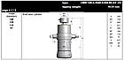 """Гідроциліндр UMB 149-4-2540-K265-50-3/4""""-HC (подкузовной) Hyva 71405725, фото 3"""
