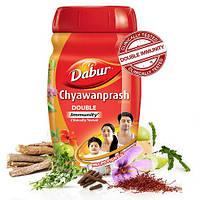 Дабур Чаванпраш 1,0 кг. двойной иммунитет, Dabur Chyawanprash Double Immunity, Аюрведа Здесь
