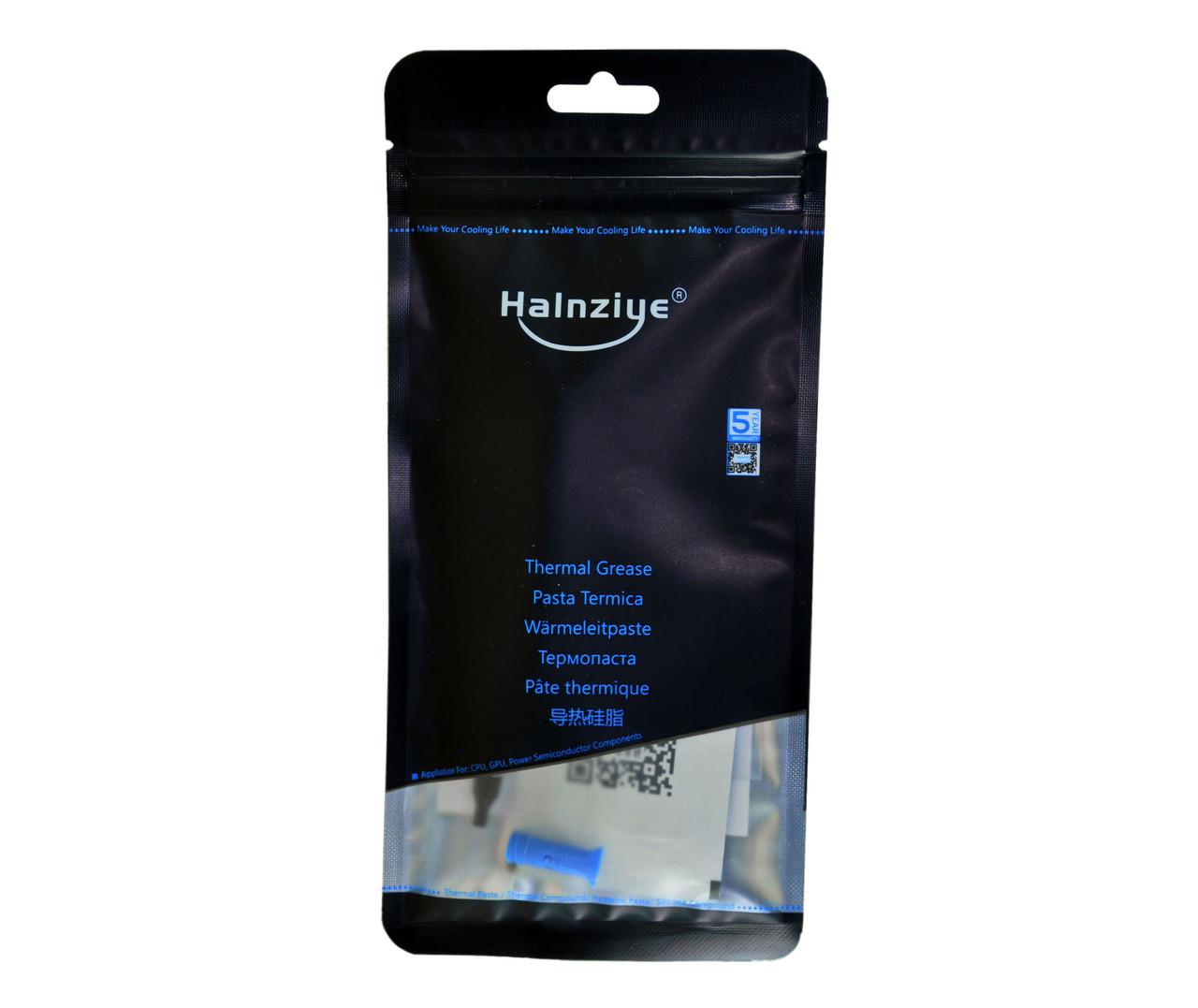 Термопаста Halnziye HY-P11 2г белая 11,8 Вт/м*К теплопроводящая (Tpa-HY-P11-TU2g)