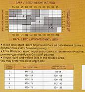 Колготки женские капроновые Айван 40 Den, Украина, чёрные 5 размер, фото 2