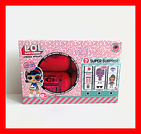 Кукла LOL (ЛОЛ) в капсуле с декодером, набор 4 шт