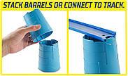 Hot Wheelsящик для трюковХот Вилс Track Builder Barrel Box, фото 7