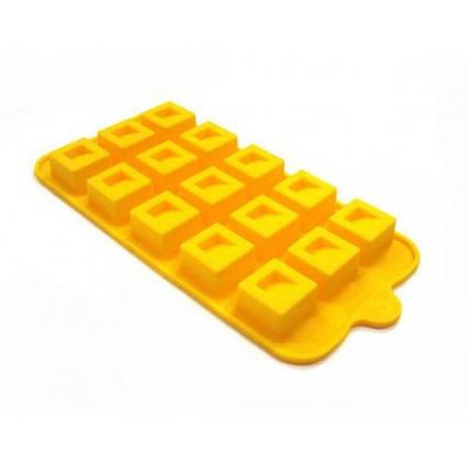 Форма силиконовая для конфет Кубики, фото 2