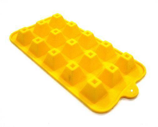 Форма силиконовая для конфет Пирамида, фото 2