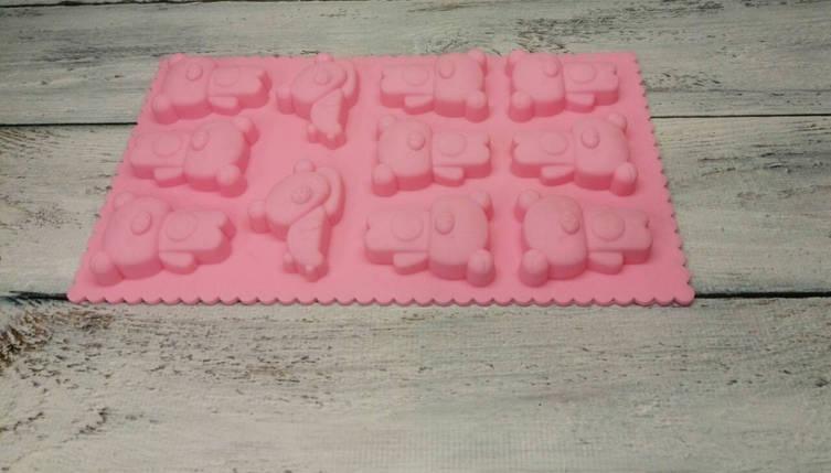 Форма силиконовая Мишки (11 шт), фото 2