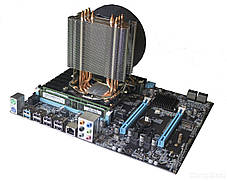 Материнская плата E5-3.2S1 / socket LGA2011 с процессором Intel Xeon E5-2667 / 6(12) ядер по 2.9-3.5GHz / 15Mb cache и 16GB DDR3 ECC ОЗУ, фото 3