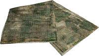 Маскировочный сетчастый шарф a-tacs green