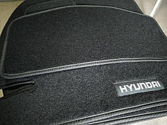 Коврики в салон ворсовые HYUNDAI Equus 2009-2013