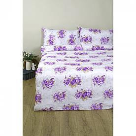 Постельное белье Lotus Ranforce - Nancy лиловый семейное