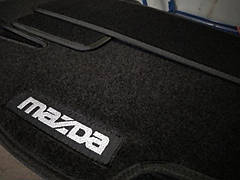 Коврики в салон ворсовые MAZDA Mazda 2 2008-