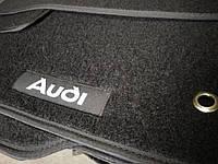 Ворсовые авто коврики в салон AUDI 100 ауди а6 ц3 основа резина