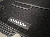 Коврики в салон ворсовые на резиновой основе BMW 3 (E46) 2001-