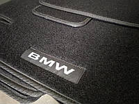 Ворсовые авто коврики в салон BMW X-1 (E84) 2009-2015 бмв х1 е84 основа резина