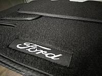 Ворсовые авто коврики в салон FORD Transit 2000-2006 форд транзит основа резина