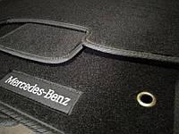 Ворсовые авто коврики в салон MERCEDES W 202 1993-2001 мерседес 202 основа резина
