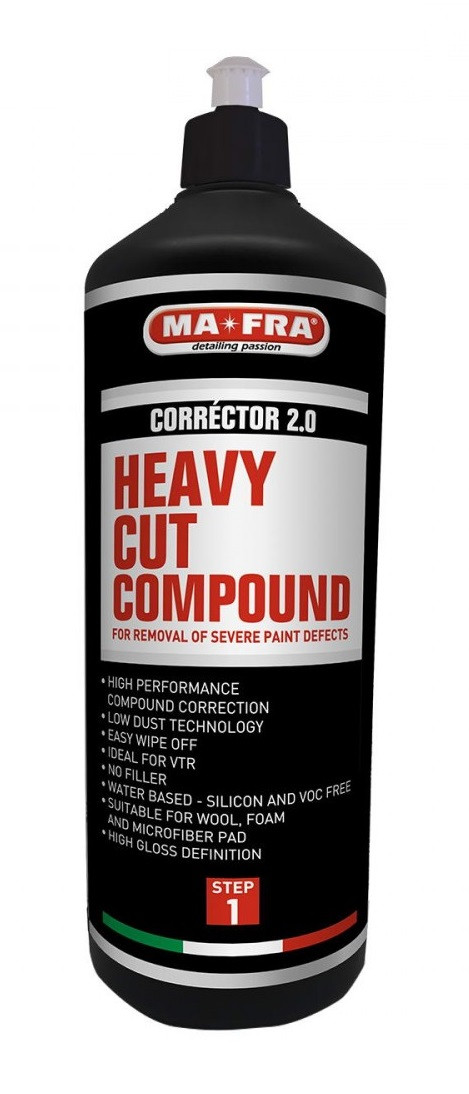 Полірувальна абразивна паста Mafra Heavy Cut Compound Corrector 2.0