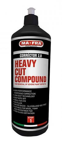 Полірувальна абразивна паста Mafra Heavy Cut Compound Corrector 2.0, фото 2