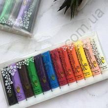 Набор акриловых красок для росписи (12 шт)