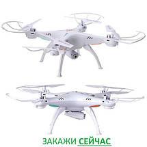 Квадрокоптер X5SW 31 см, WIFI, HD камера, авто возврат!, фото 2