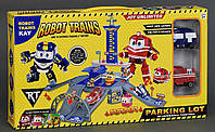 "Гараж ZY 646 ""Robot Trains"" (2 машины, 3 этажа)"
