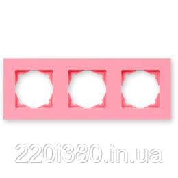 Eqona рамка 3-я  розовая
