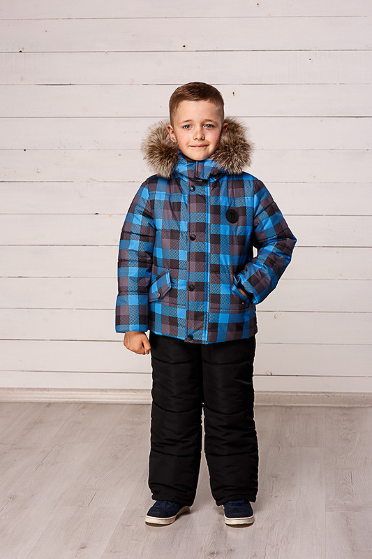 Детская теплая куртка  и полукомбинезон  для мальчиков