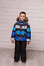 Зимняя куртка для мальчиков  и полукомбинезон