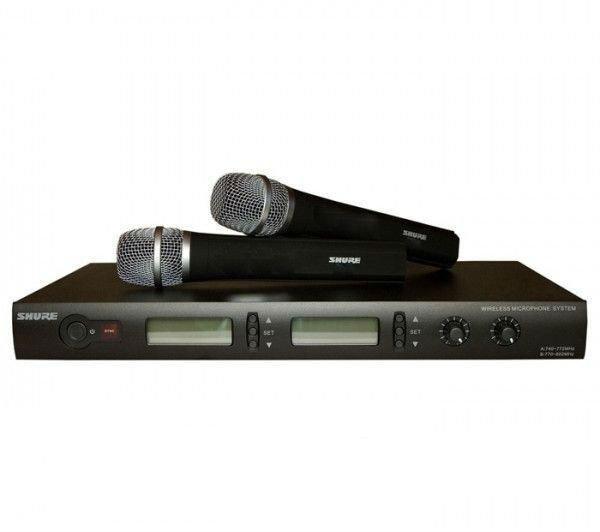 Микрофон, Радиомикрофон SHURE PGX268