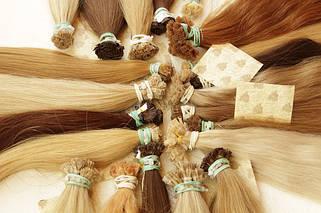 40 см славянские волосы на капсулах