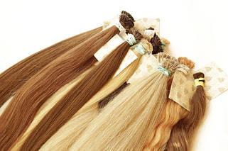 55 см славянские волосы на капсулах