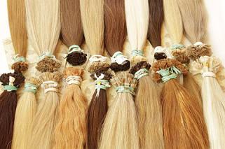 65 см славянские волосы для наращивания на капсулах