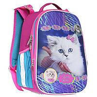 Рюкзак (ранец) школьный каркасный Class 9956 Lovely Kitties 35*27*16см